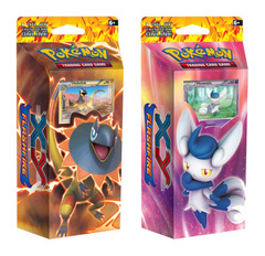 XY Flashfire - Dual Theme Deck Pack - Meowstic and Heliolisk