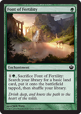 Font of Fertility - Foil
