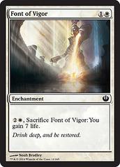 Font of Vigor - Foil