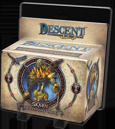Descent: Journeys in the Dark (Second Edition)  Skarn Lieutenant Pack