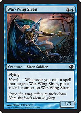 War-Wing Siren - Foil