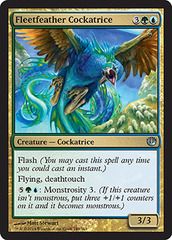 Fleetfeather Cockatrice - Foil
