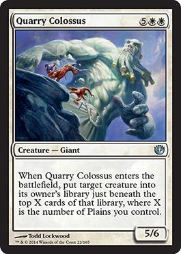 Quarry Colossus - Foil