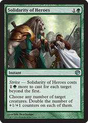 Solidarity of Heroes - Foil