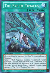 The Eye of Timaeus - DRLG-EN005 - Secret Rare - 1st Edition