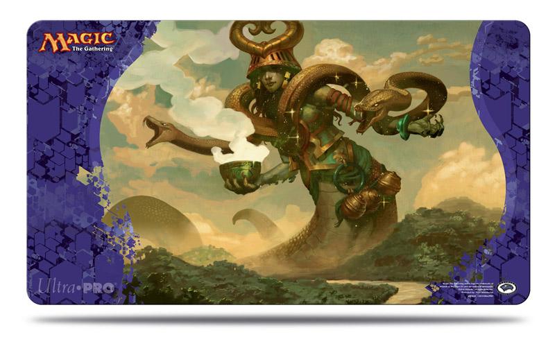 Journey into Nyx Pharika, God of Affliction Playmat (MTG)
