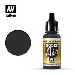 Vallejo Model Air - Black - VAL71057 - 17ml