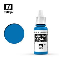 VAL70736 Vallejo Model Color Blue Fluorescent 17ml (209)