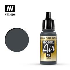 Vallejo Model Air - AMT-12 Dark Grey - VAL71308 - 17ml