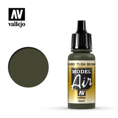 Vallejo Model Air - BS Dark Green - VAL71324 - 17ml