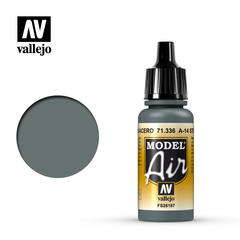 Vallejo Model Air - A-14 Steel Grey - VAL71336 - 17ml