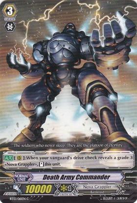 Death Army Commander - BT13/061EN - C