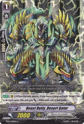 Beast Deity, Desert Gator - BT13/064EN - C