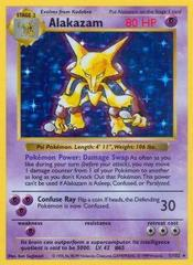 Alakazam - 1/102 - Holo Rare - Shadowless Edition