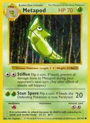 Metapod - 54/102 - Common - Shadowless Edition
