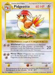 Pidgeotto - 22/102 - Rare - Shadowless Edition on Channel Fireball