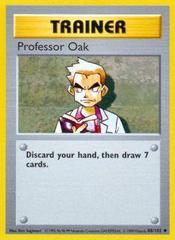 Professor Oak - 88/102 - Uncommon - Shadowless Edition