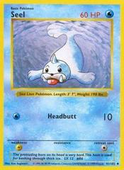 Seel - 41/102 - Uncommon - Shadowless Edition