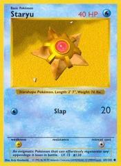 Staryu - 65/102 - Common - Shadowless Edition