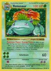 Venusaur - 15/102 - Holo Rare - Shadowless Edition