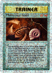 Mysterious Fossil - 109/110 - Common - Reverse Holo