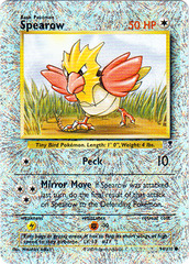 Spearow - 94/110 - Common - Reverse Holo