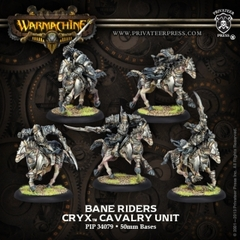 Bane Riders Cryx - Cavalry Unit (5)