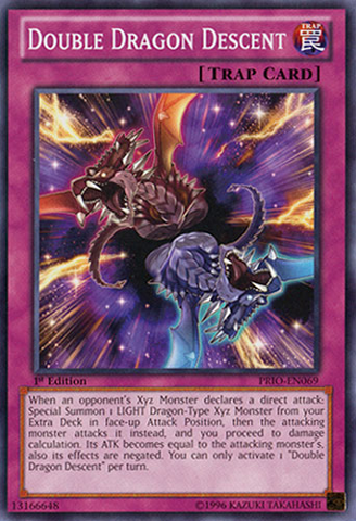 Double Dragon Descent - PRIO-EN069 - Common - 1st Edition
