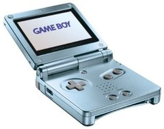 System: Game Boy Advance SP Pearl Blue