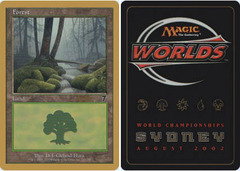 Forest - 7th Edition 328 - Brian Kibler - 2002