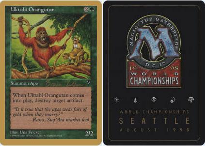 Uktabi Orangutan - Brian Seldon - 1998