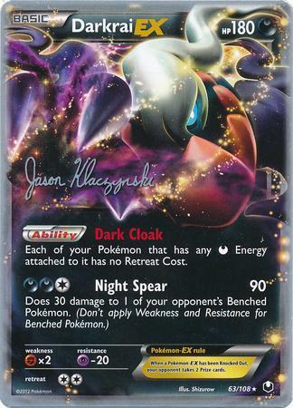 Darkrai-EX (b) - 63/108 - World Championship Card