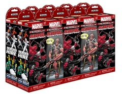 Marvel HeroClix: Deadpool 10 Count Booster Brick
