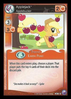 Applejack, Applebucker - 26