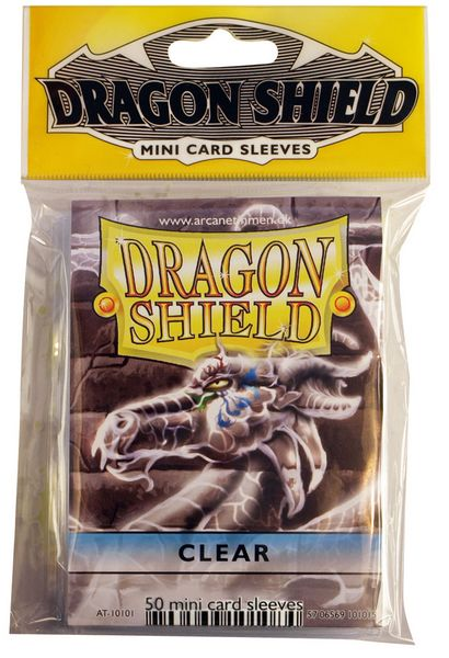 Dragon Shield Small Sleeves - Clear (50 ct)