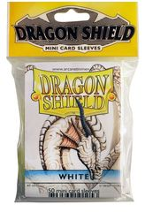 Dragon Shield Mini Card Sleeves (50 ct) - White