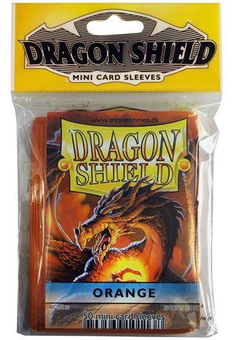 Dragon Shield Mini Card Sleeves (50 ct) - Orange