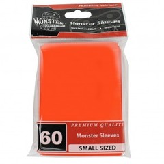 Monster Gloss Small Sleeves (60ct) - Orange