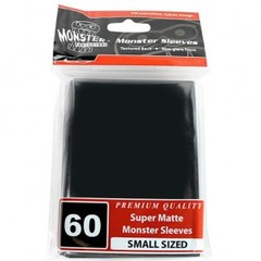 Monster Matte Small Sleeves (60ct) - Black