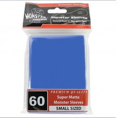 Monster Matte Small Sleeves (60ct) - Blue