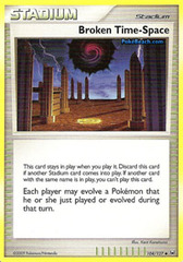 Broken Time-Space - 104 - Promotional - Crosshatch Holo Pokemon League Snivy Season May 2011 on Channel Fireball