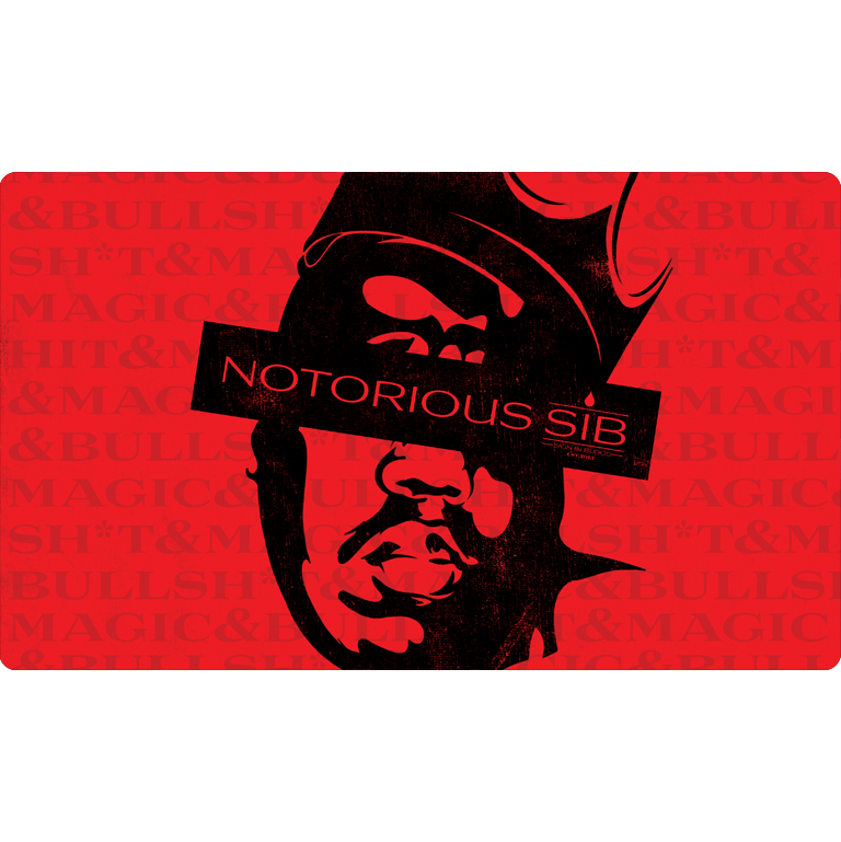 Sign in Blood Notorious Playmat