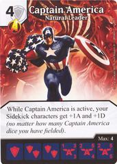 Captain America - Natural Leader (Card Only)