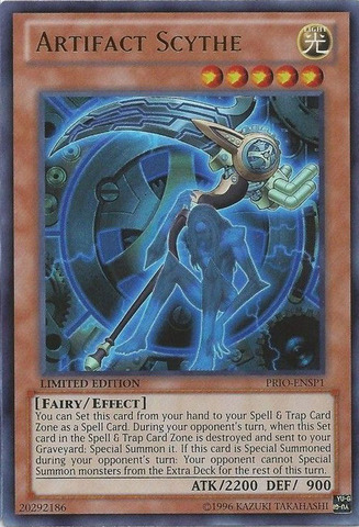 Artifact Scythe - PRIO-ENSP1 - Ultra Rare - Limited Edition