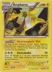 Ampharos - 40/124 - Rare - Cosmos Holo Legendary Treasures Blisters Exclusive