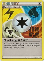 Blend Energy WLFM - 118/124 - Crosshatch Holo 2012 Player Rewards