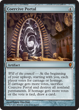 Coercive Portal - Foil