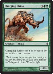 Charging Rhino on Channel Fireball