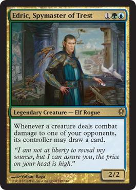 Edric, Spymaster of Trest - Foil