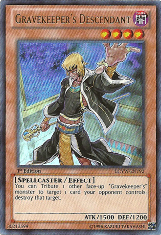 Gravekeepers Descendant - LCYW-EN192 - Ultra Rare - Unlimited Edition